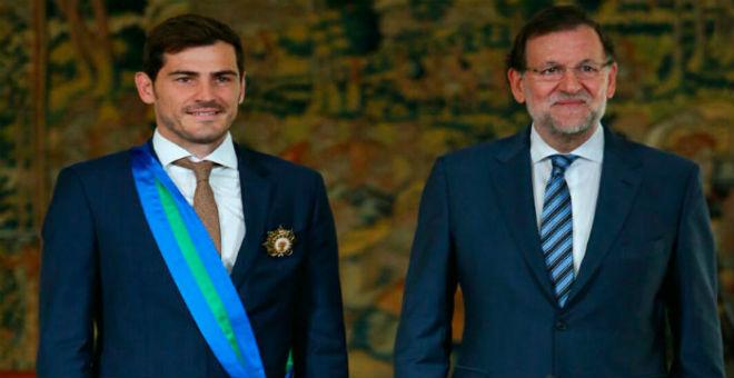 كاسياس يحصل على أعلى وسام رياضي في إسبانيا