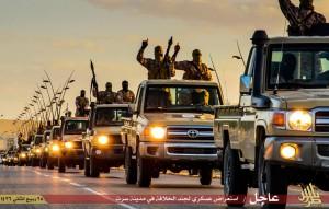 داعش تستعرض قوتها بسرت الليبية