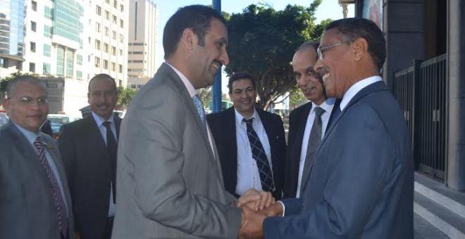 محادثات حول ملف التشغيل بين المخارق ومدير منظمة العمل العربية