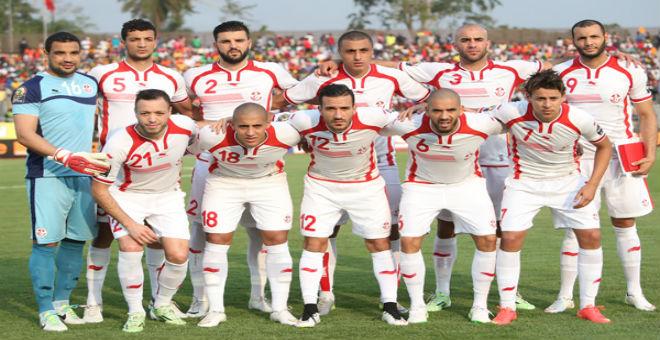 مباراة ودية بين تونس و ليبيريا بوساطة جورج وايا