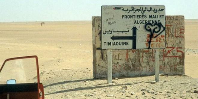 الحدود الجزائرية المالية