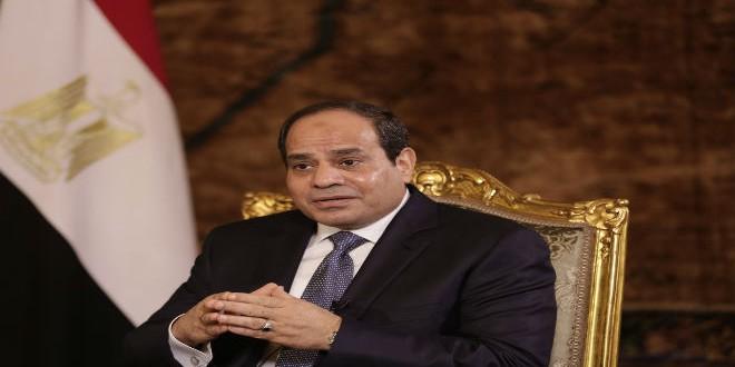 الرئيس المصري عبد الفتاح السييسي