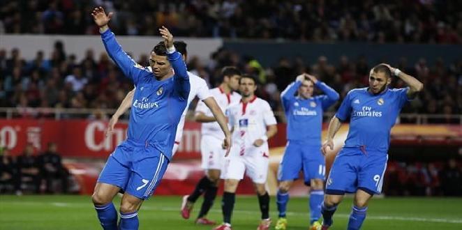 ريال مدريد يتلقى أول خسارة أمام إشبيلية