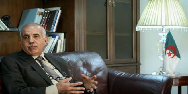 السفير الجزائري في إيران عبد المنعم أحريز
