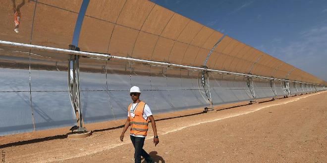 المغرب ينشئ أكبر محطة للطاقة الشمسية في العالم