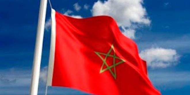 العلم الوطني المغربي