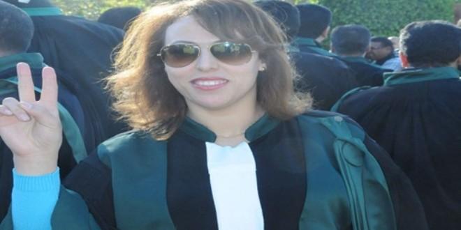 القاضية المغربية أمال حماني