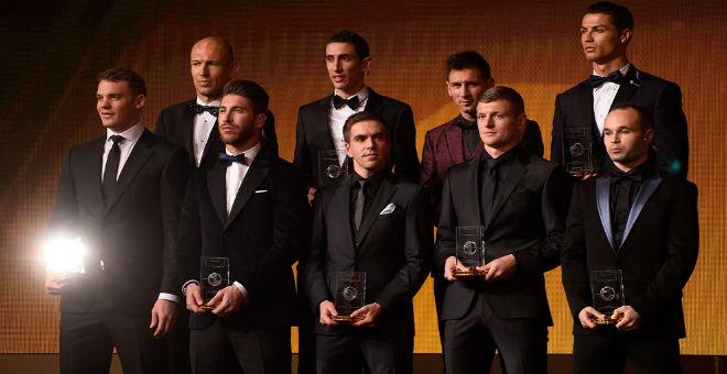 الفيفا يكشف عن قائمة أفضل اللاعبين في العالم