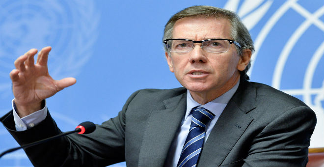 ليون يدعو طرفي الصراع في ليبيا إلى القبول بحكومة الوفاق