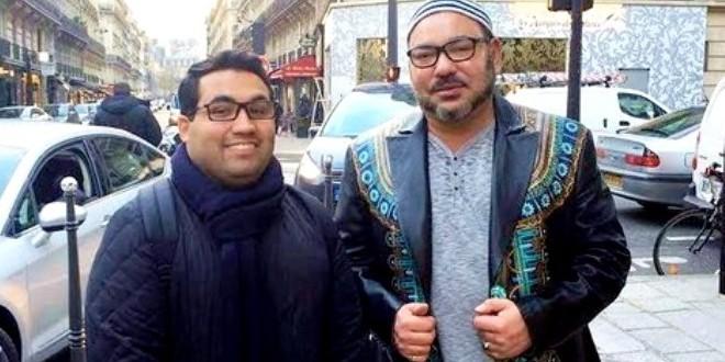 الملك في باريس