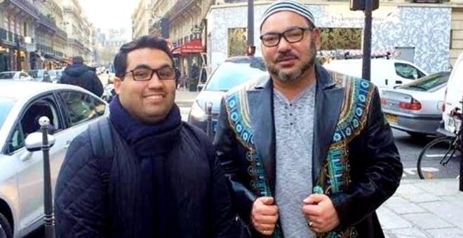 لفتة إنسانية رائعة من الملك محمد السادس تجاه باريس الجريحة!!