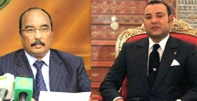 الملك للرئيس الموريتاني: حريصون على تدعيم بناء الاتحاد المغاربي