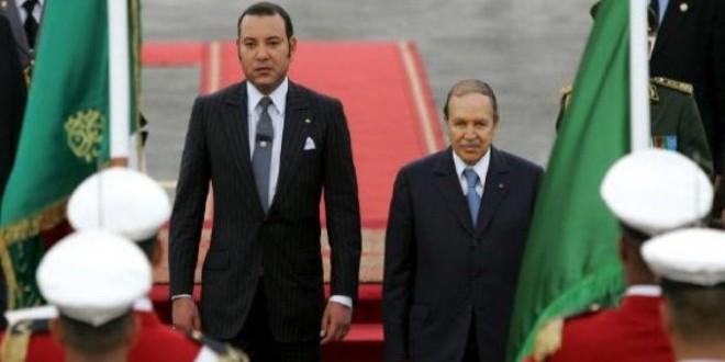 الملك محمد السادس والرئيس الجزائري عبد العزيز بوتفليقة.