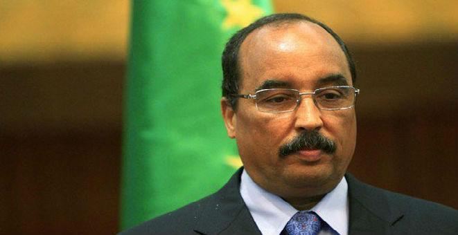 في سابقة ..الرئيس الموريتاني يوقف مباراة السوبر ويخلق الجدل