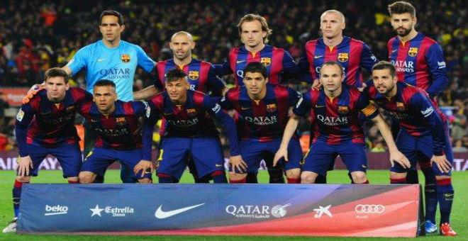 برشلونة يتربع على عرش الكرة العالمية في 2015