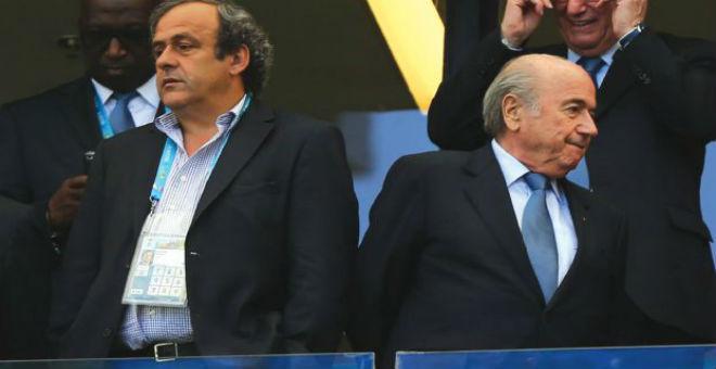 الفيفا ترفع دعوى قضائية ضد بلاتر وبلاتيني