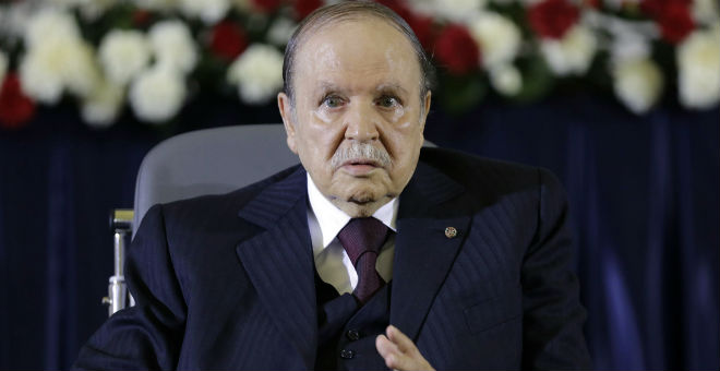 سياسي جزائري يطالب بوتفليقة بإلقاء خطاب لمدة 5 دقائق!!