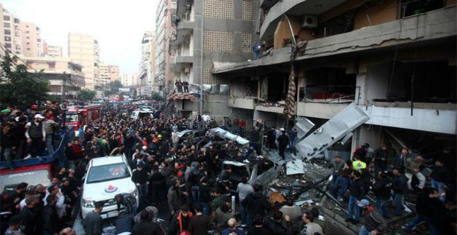 بالصور..داعش يتبنى تفجيري العاصمة اللبنانية