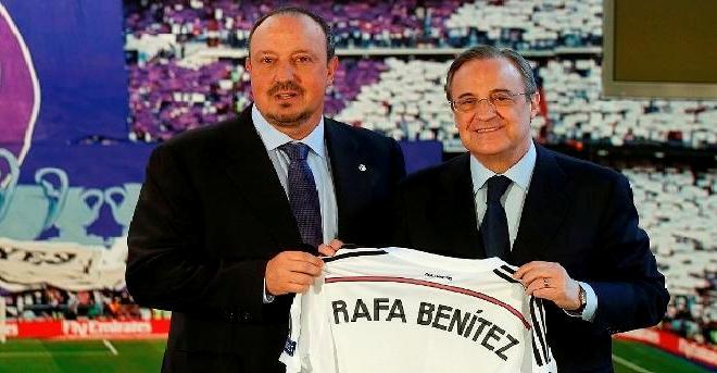 ماركا تعلن إقالة بينيتز من تدريب ريال مدريد