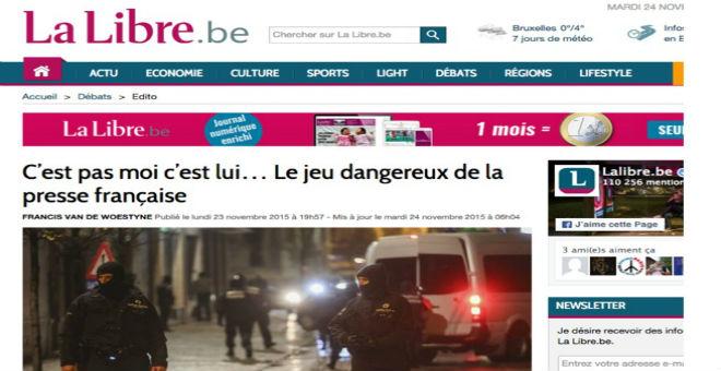 تراشق إعلامي بين الصحافة في بلجيكا وفرنسا بسبب الإرهاب