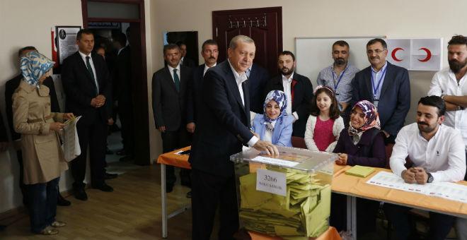 هذه النتائج الأولية للانتخابات البرلمانية في تركيا
