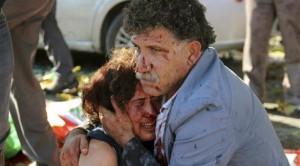تفجيرات أنقرة في تركيا
