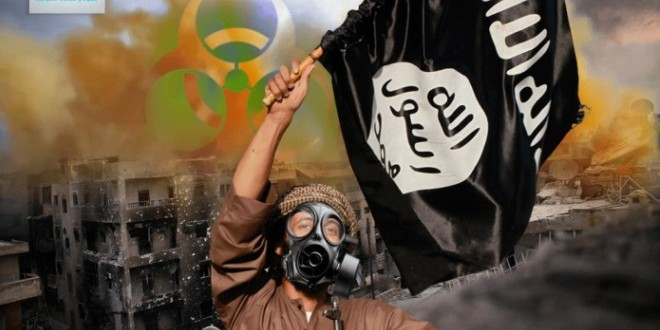 تنظيم داعش يسعى إلى حيازة الاسلحة الكيماوية في منطقة الشرق الأوسط