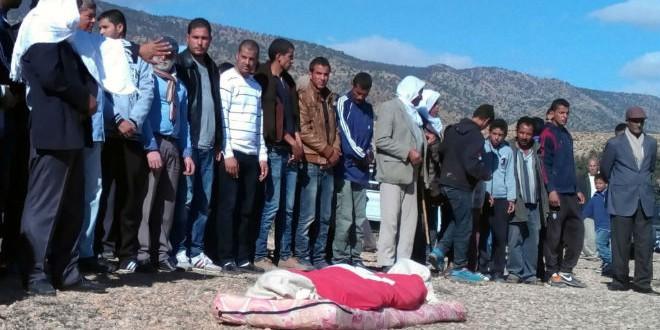 جثة الراعي الشاب مبروك السلطاني المقتول من قبل داعش