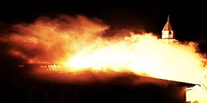 حريق مسجد