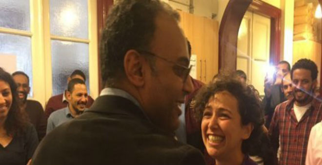النيابة العسكرية تفرج عن الصحفي المصري حسام بهجت