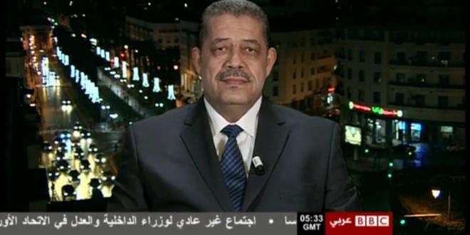حميد شباط، أثناء حديثه لقناة بي بي سي عربي