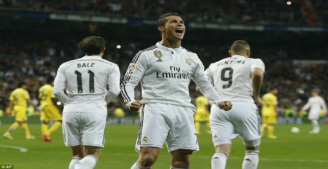 رونالدو يسجل رقما قياسيا في دوري الأبطال