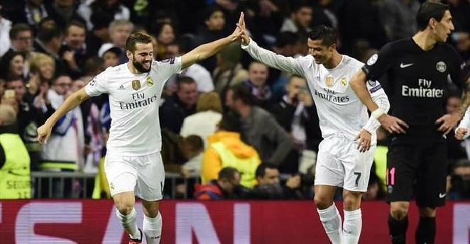 ريال مدريد يفوز على باريس سان جيرمان ويتأهل