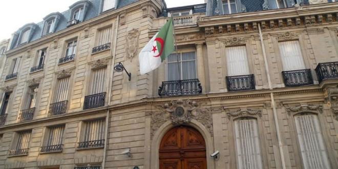 خلية أزمة بسفارة الجزائر بفرنسا