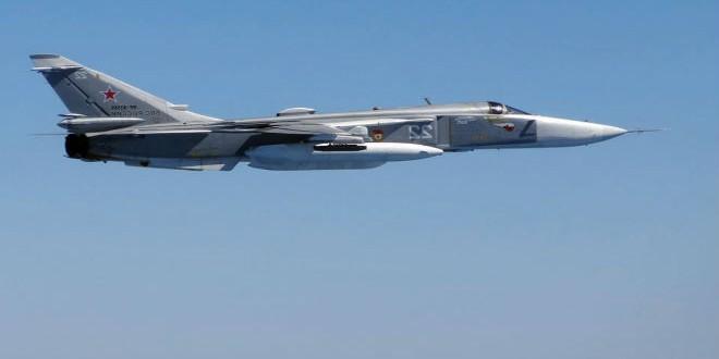 طائرة روسية من نوع سوخوي 24