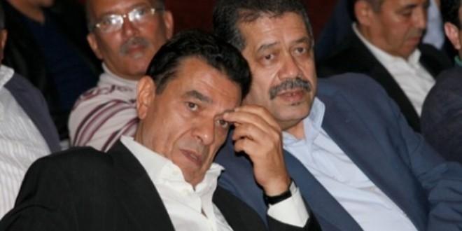 حميد شباط ومحمد الوفا