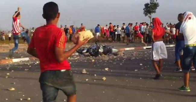 شغب وفوضى بين أنصار الحسنية والوداد في أكادير