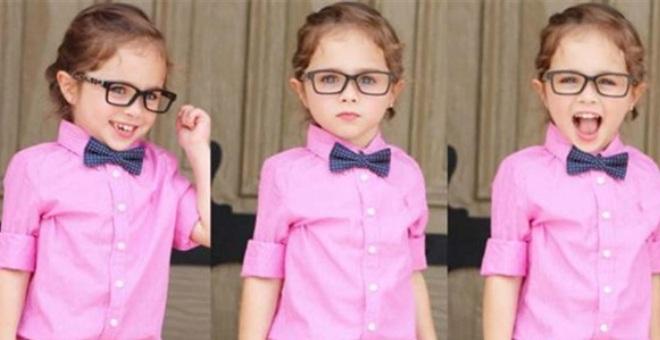 بالصور.. طفلة عارضة أزياء تشعل الإنستجرام