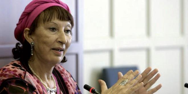 الكاتبة المغربية المرحومة فاطمة المرنيسي