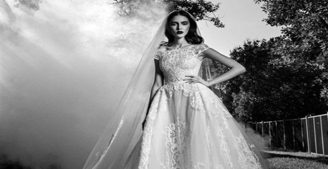 بالصور..فساتين زفاف الخريف من زهير مراد