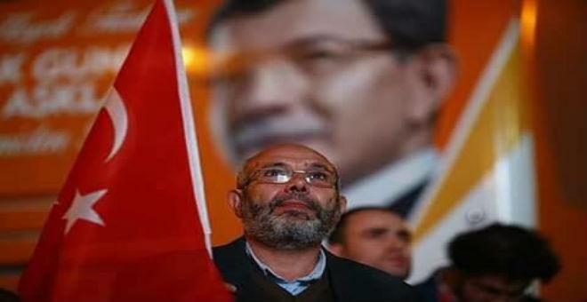 بالصور..احتفالات بفوز العدالة والتنمية التركي في الانتخابات التشريعية