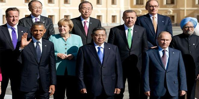 قادة دول مجموعة الـ20