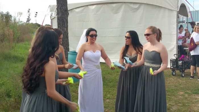عروس أُلغي زفافها في آخر لحظة .. شاهد ردة فعلها !