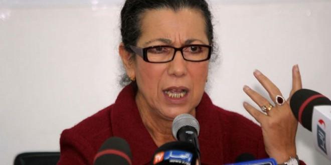 """لويزة حنون زعيمة """"حزب العمال"""" بالجزائر"""