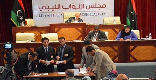 ليبيا..مجلس النواب يوقع قرارا بشأن الاتفاق السياسي