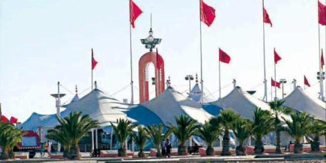مدينة العيون، كبرى حواضر الصحراء المغربية، تتظاهب للاحتفال بعيد المسيرة
