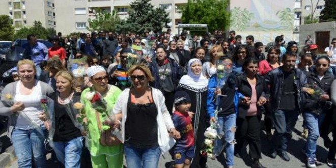 مسيرة ضد العنف بأحياء المهاجرين بمارسيليا (أرشيف)
