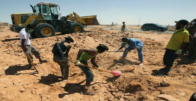 ليبيا: العثور على مقبرة جماعية شرق طرابلس