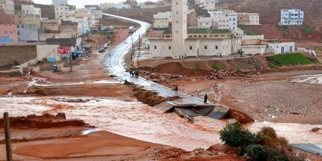 من فيضانات السنة الماضية في المغرب