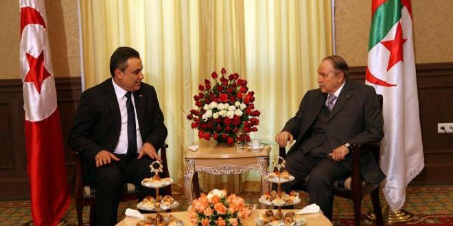 مهدي جمعة في لقاء مع الرئيس الجزائري عبد العزيز بوتفليقة